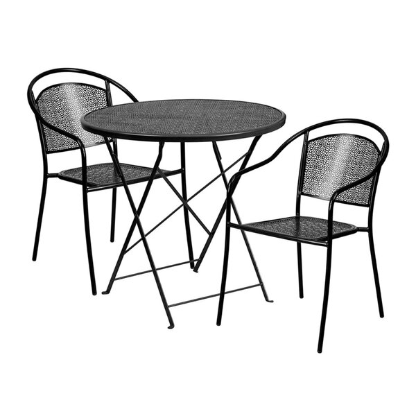 Mina 3 Piece Dining Set by Ebern Designs