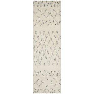 Eleftheria Hand-Tufted Beige Area Rug