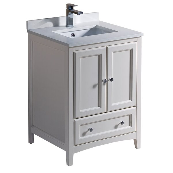 Oxford 24 Single Bathroom Vanity Set by FrescaOxford 24 Single Bathroom Vanity Set by Fresca