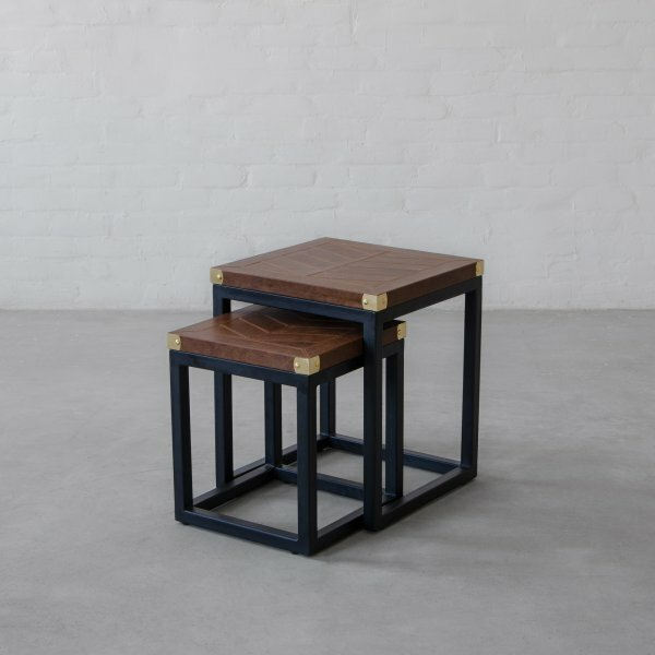 Alec 2 Piece Nesting Table by 17 Stories
