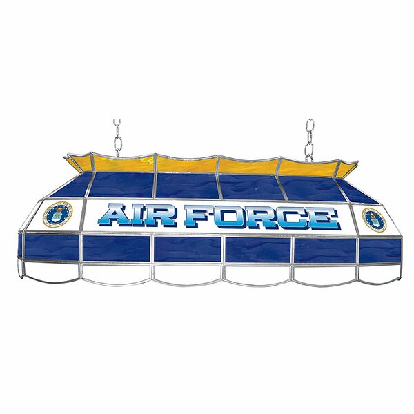 U.S. Air Force 3-Light Pool Table Light by Trademark Global