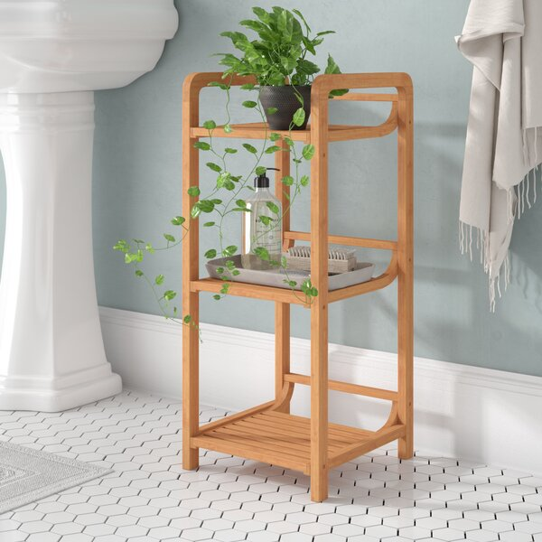 Millbank 12 W x 27.75 H Bathroom Shelf by Andover Mills