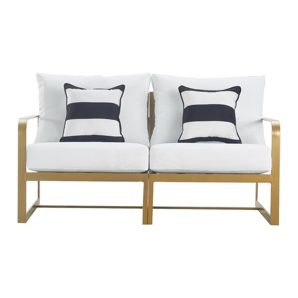 Mirabelle Patio Sofa with Cushion by Elle Decor Elle Decor