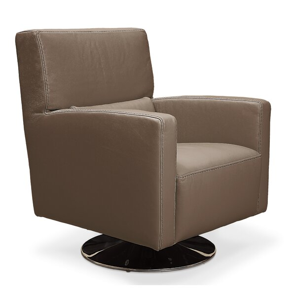 Roth Swivel Armchair By Orren Ellis Spacial Price