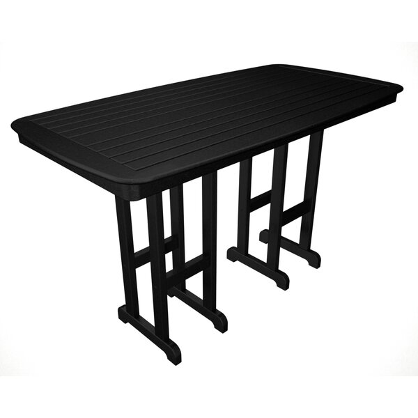 Nautical Plastic Bar Table By POLYWOOD® by POLYWOOD® Best
