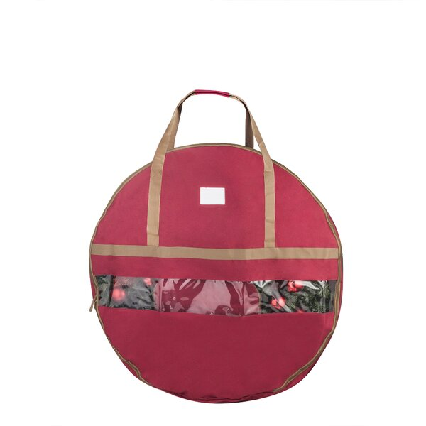 Christmas Wreath Storage Bag by The Holiday Aisle