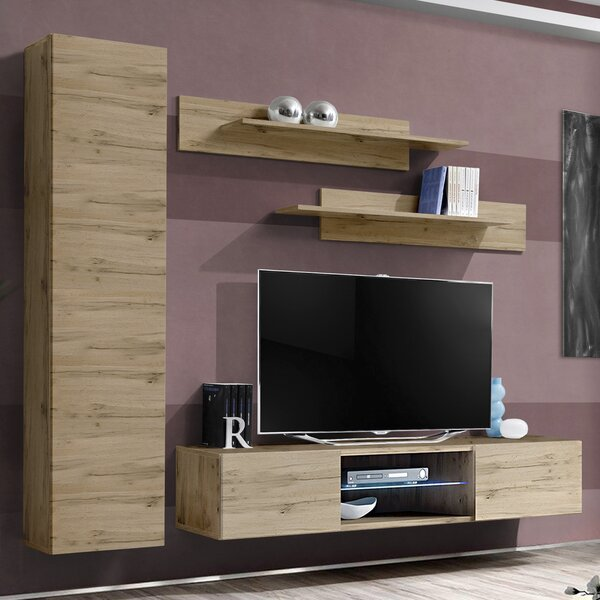 Free Shipping FLYG1 Floating Entertainment Center For TVs Up To 70