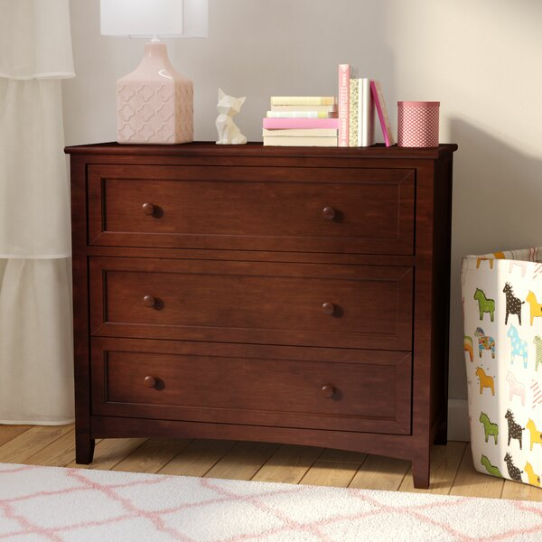 Nickelsville 3 Drawer Wood Dresser by Three Posts Baby & Kids