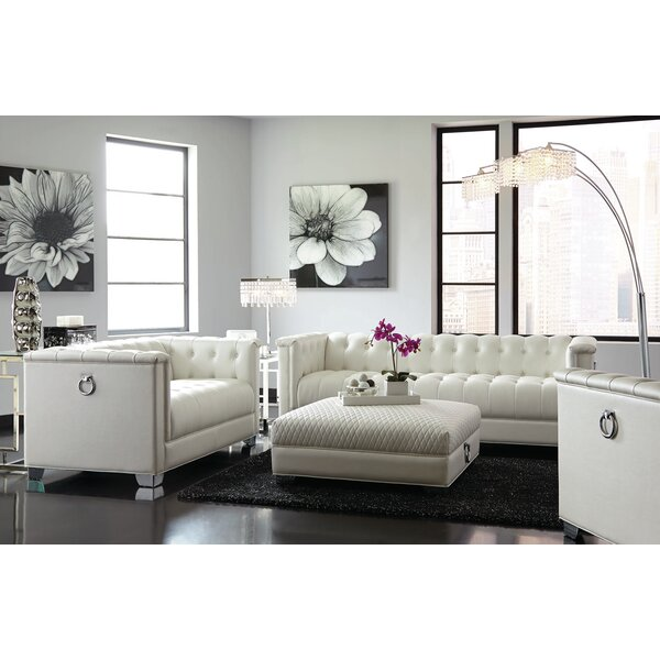 Clapham 4 Piece Living Room Set by Rosdorf Park