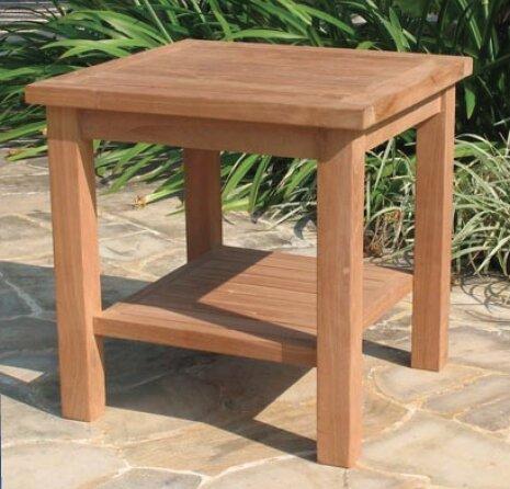 Gasaway Teak Side Table by Highland Dunes