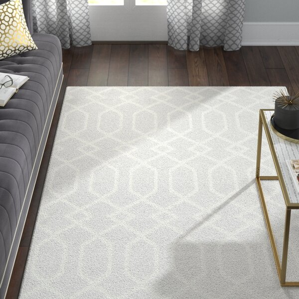 Siclen Gray/Ivory Area Rug by Willa Arlo Interiors