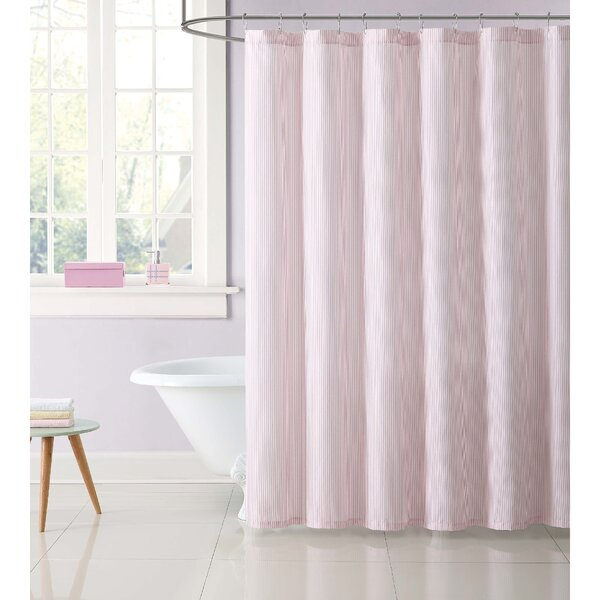 Dunnam Kids Stripe Shower Curtain by Harriet Bee
