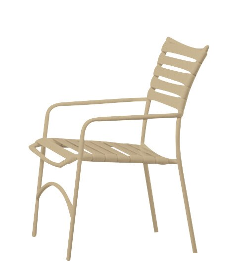 Tropi-Kai® Stacking Patio Dining Chair by Tropitone