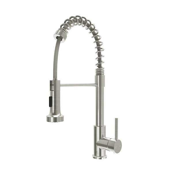 Pull Down Single Handle Kitchen Faucet by Watqen Watqen