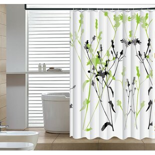 Guide to buy Eleglantly Floral Abstract Shower Curtain ByEast Urban Home