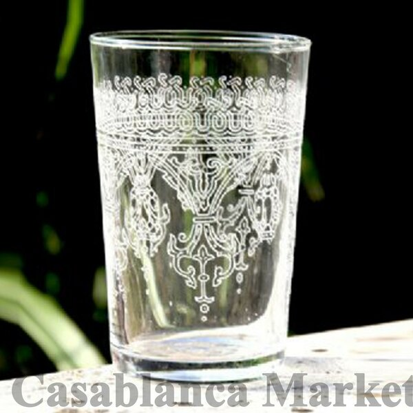 Moroccan Fnar Glass (Set of 6) by Casablanca Market