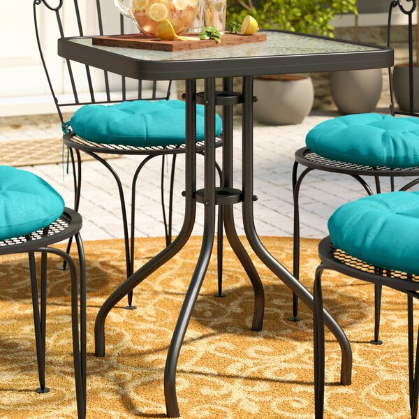 Melmore Bistro Table by Charlton Home