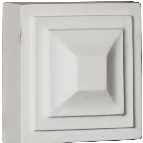 Dover 4.38 H x 4.38 W x 1.25 D Rosette by Ekena Millwork