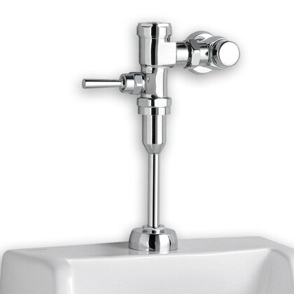 Washbrook 0.5 GPF Urinal with Manual Flush Valve by American Standard