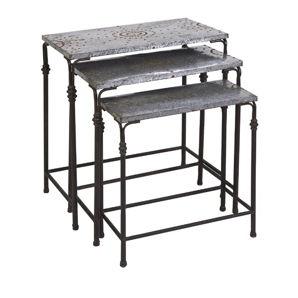 Ashworth 3 Piece Nesting Tables by Williston Forge