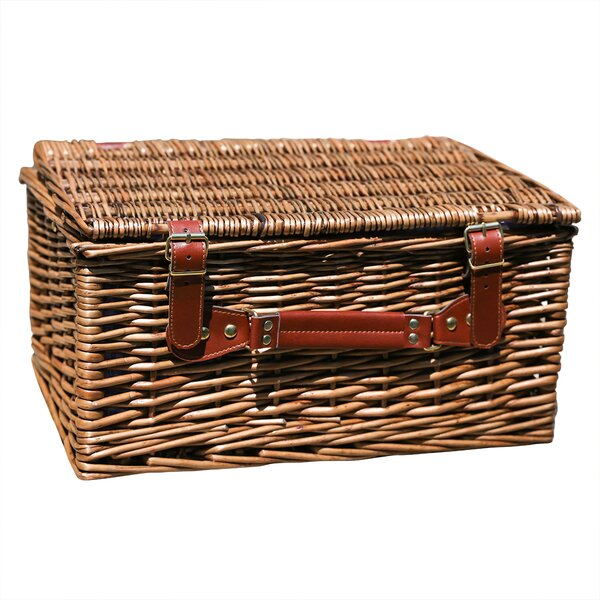 Wicker Picnic Basket by August Grove