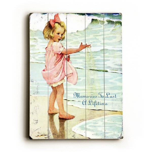 Memories to Last a Lifetime Beach Graphic Art by Artehouse LLC