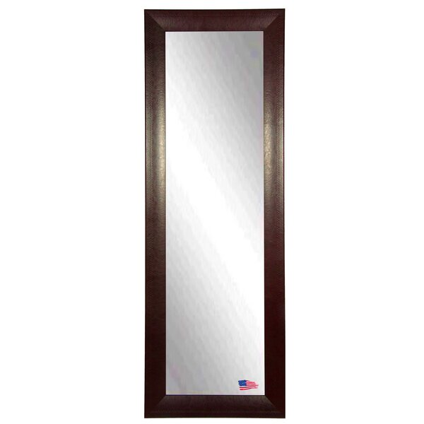 Stitched Leather Full Length Body Mirror by Darby Home Co