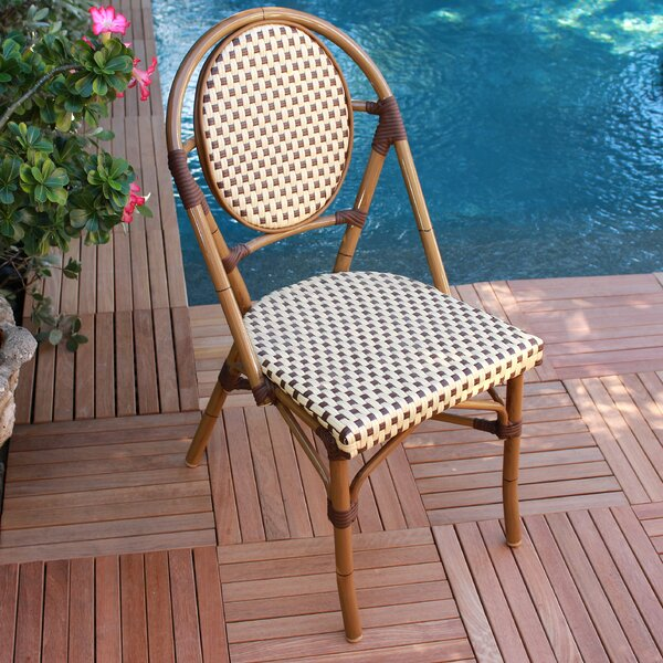 French Armless Stacking Chair (Set of 6) by Infinita Corporation