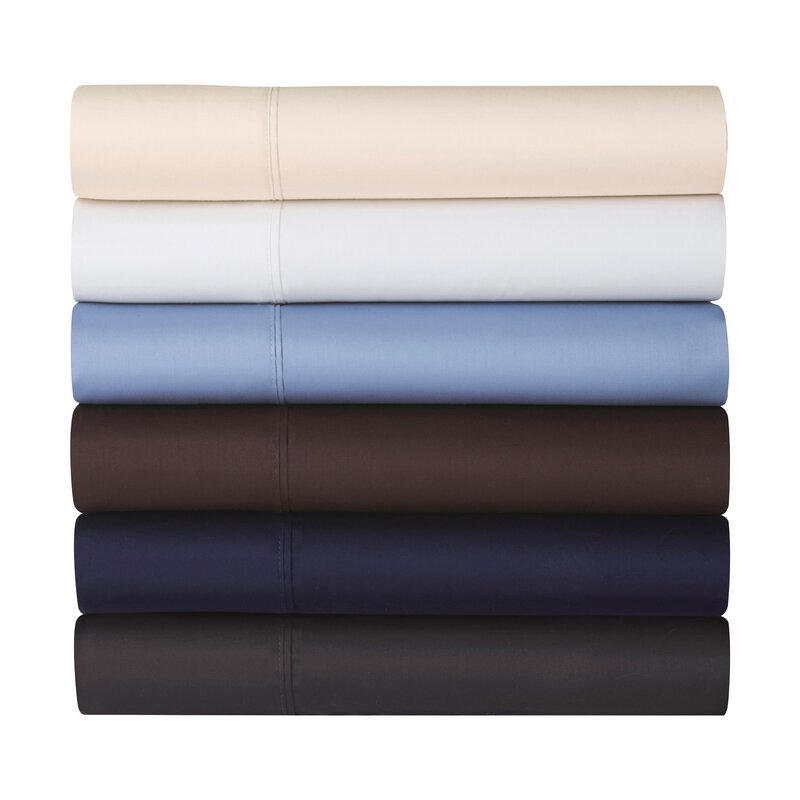 Joss & Main Essentials 300 Thread Count Cotton Solid Sheet Set