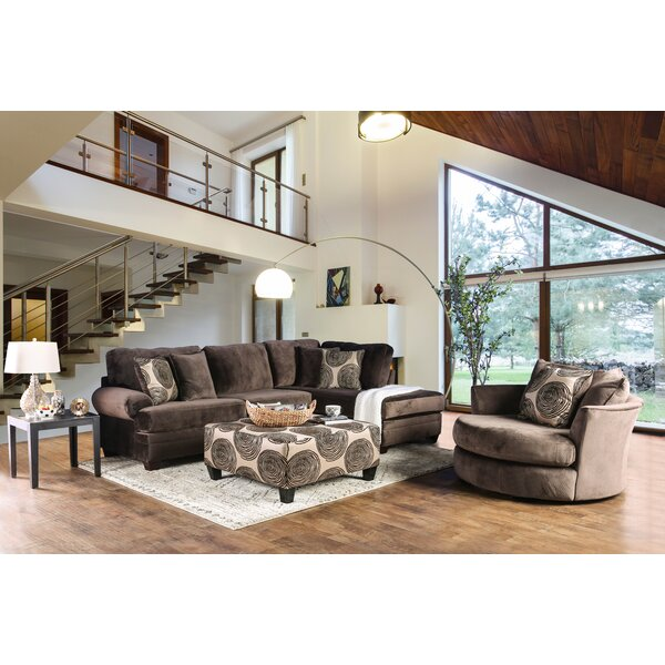 Holford Symmetrical Sectional By Red Barrel Studio