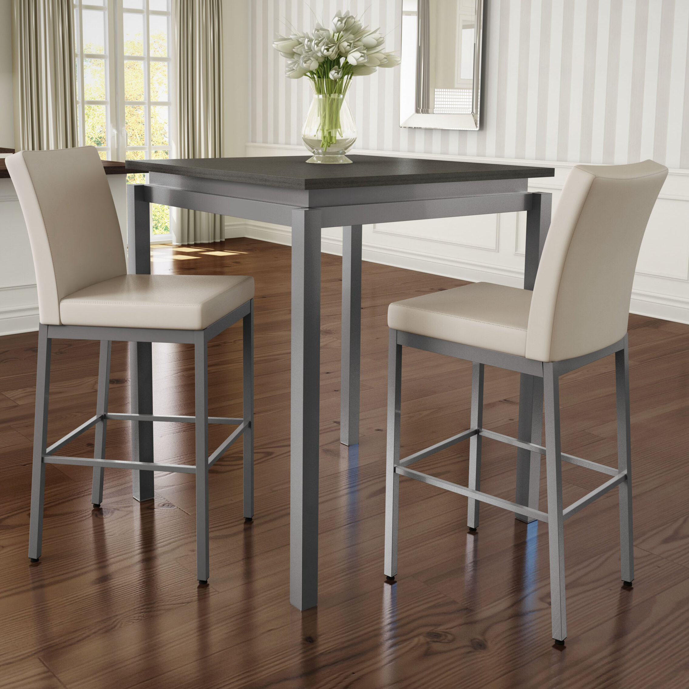 Latitude Run Wilma 3 Piece Pub Table Set | Wayfair