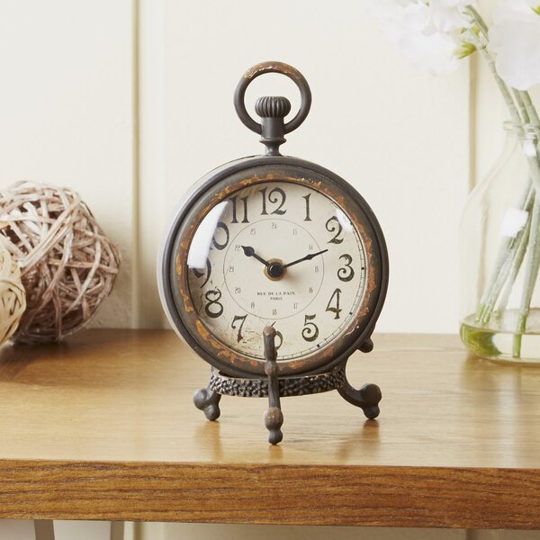 Eldernell Table Clock by Birch Lane™