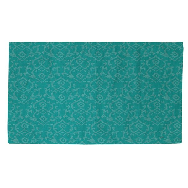 Flowing Damask Area Rug by Manual Woodworkers & Weavers