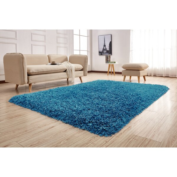 Pawlak Hand-Tufted Blue Area Rug by Latitude Run