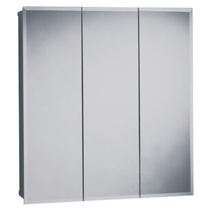 Reviews 23.63 x 25.5 Surface Mount Medicine Cabinet ByZenith Products