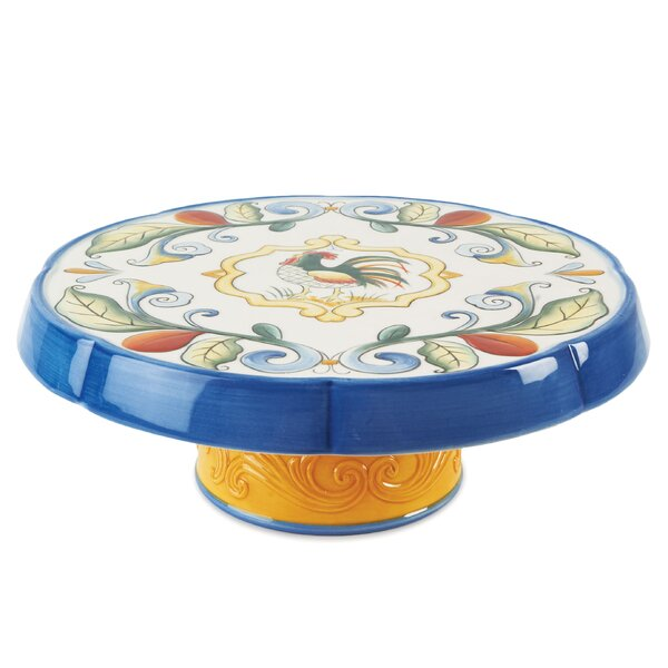 Ricamo Round Cake Chip and Dip Tray by Fitz and Floyd