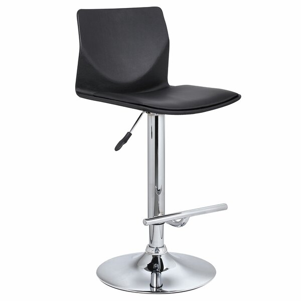 Washington Adjustable Height Swivel Bar Stool by Bromi Design