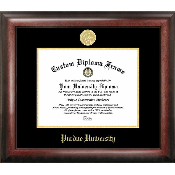 NCAA Purdue University Diploma Picture Frame by Campus Images