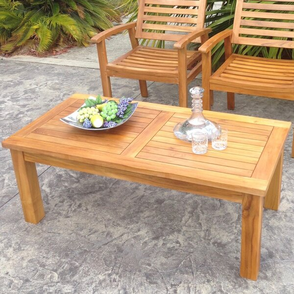 San Diego Teak Coffee Table by Chic Teak