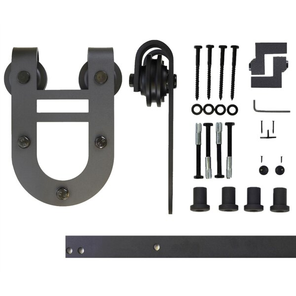Single Door Horseshoe Design Barn Door Hardware by Vancleef