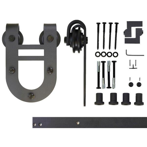 Single Door Horseshoe Design Barn Door Hardware by Vancleef