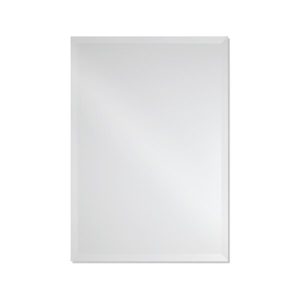 Provost Frameless Rectangle Wall Mirror by Orren Ellis