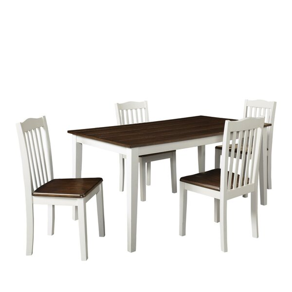 Fresh Dawson 5 Piece Dining Set By August Grove Wonderful