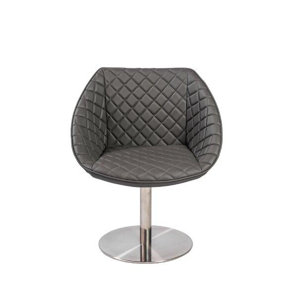 Fianna Swivel Barrel Chair by Orren Ellis