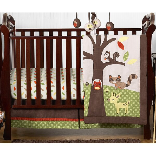 Forest Friends 4 Piece Crib Bedding Set by Sweet Jojo Designs