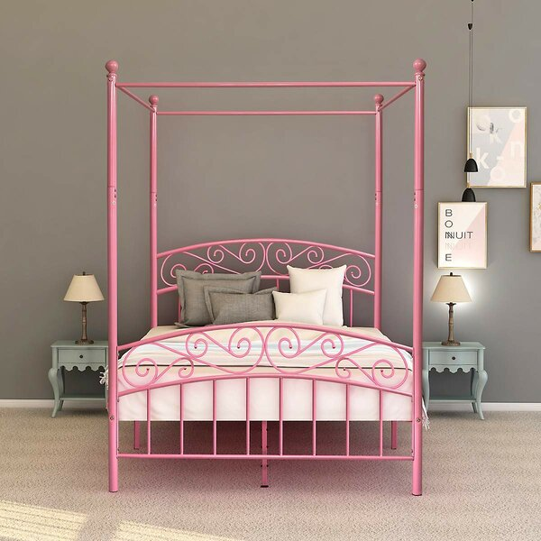 Flinn Canopy Bed by Red Barrel Studio