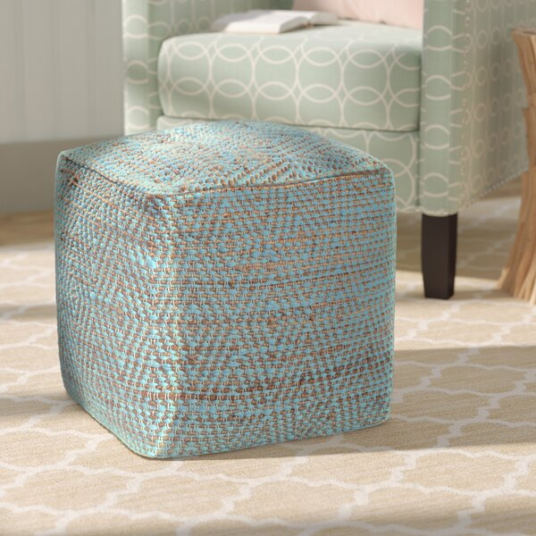 Federalsburg Pouf by Beachcrest Home