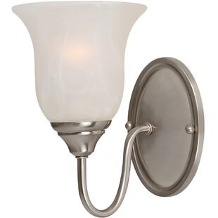 Best Reviews Saturn 1-Light Wall Sconce By Hardware House