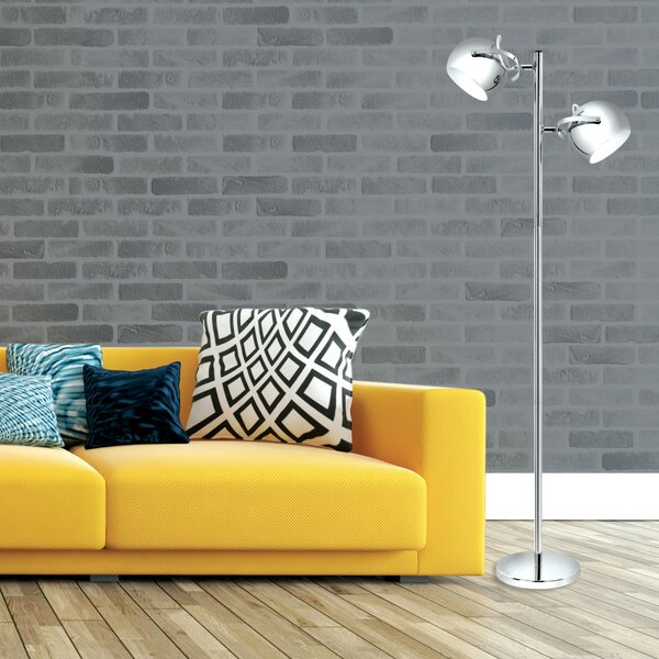 Miles 61  Torchiere Floor Lamp by Globe Electric Company