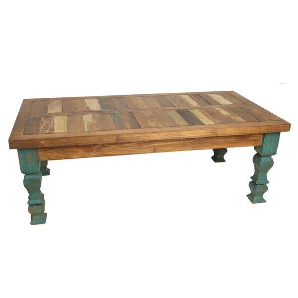 Crenata Reclaimed Old Door Coffee Table by Loon Peak Loon Peak